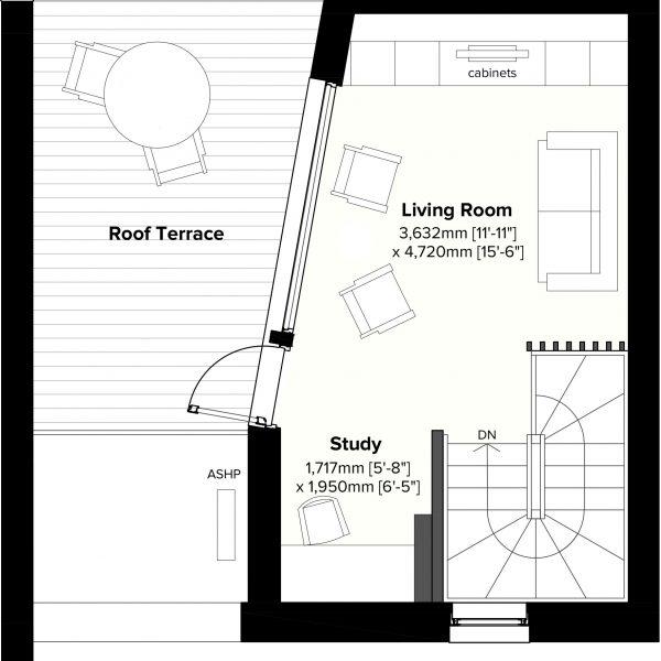 Type 2 - 2nd Floor Plan