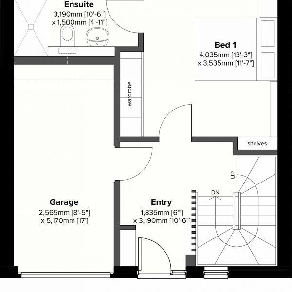 Type 2 - Ground Floor Plan